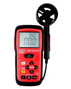 Termo-Anemômetro Mod TAD-500 Digital Portátil Escala de 0,3-45 m/s e 0 a 60ºC