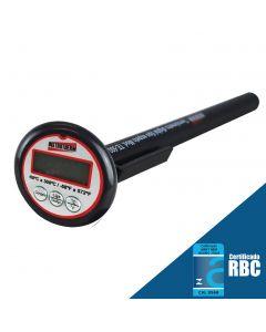 Termômetro Digital Portátil Mod. TE-500 Tipo Espeto Com Faixa de - 50 A 300°C