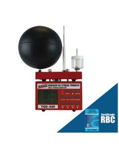 Medidor de Stress Térmico mod. TGD-400 conforme nova revisão NHO 06
