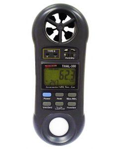 Termo-Higro-Anemometro-Luxímetro Digital Portatil Mod. THAL-300
