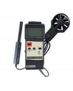 Termo-Higro-Anemômetro Digital Portatil com RS-232 Mod. THAR-185