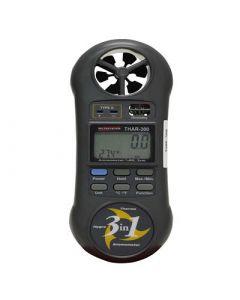 Termo-Higro-Anemômetro Digital portatil, Temperatura 0 a 50C, Umidade de 10 a 95% U.R., Anemômetro de 0,4 a 30 m/s mod. THAR-300
