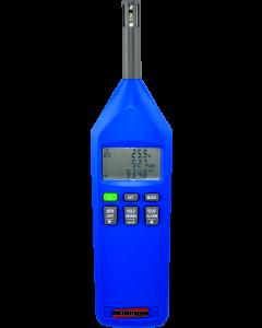 Termo-Higro-Barômetro Digital Portatil Temperatura -40 a 100C, Higrometro 0 a 100% U.R., Barometro -300 a 1200hpa mod. THB-100