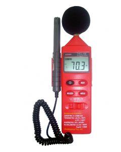 Termo-Higro-Decibelímetro-Luxímetro Digital Portatil THDL-400