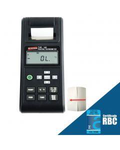 Termômetro Digital Portátil Tipo K, J, E, T C/ Impressora e 2 Canais Mod. THR-140