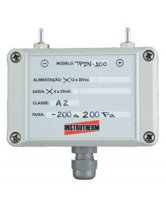 Manômetro transmissor de pressão diferencial MOD. TPDV-100