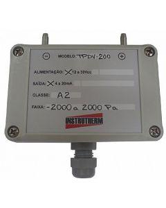 Manômetro transmissor de pressão diferencial MOD. TPDV-200
