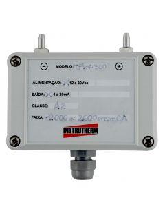 Manômetro transmissor de pressão diferencial MOD. TPDV-300