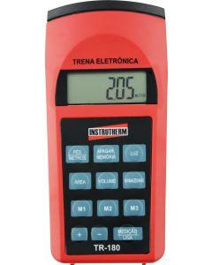 Trena ultrassonica mod.TR-180 Digital Portátil com Mira Laser escala 0,91 a 15,00m